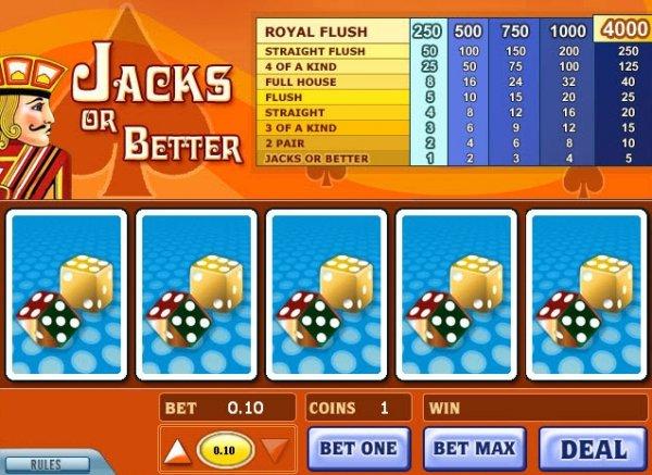 Play Jacks or Better Video Poker at Casino.com New Zealand