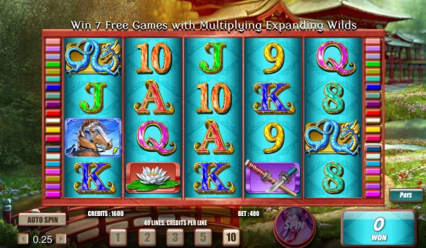 Samurai Princess Video Slot – Now Available for Free Online
