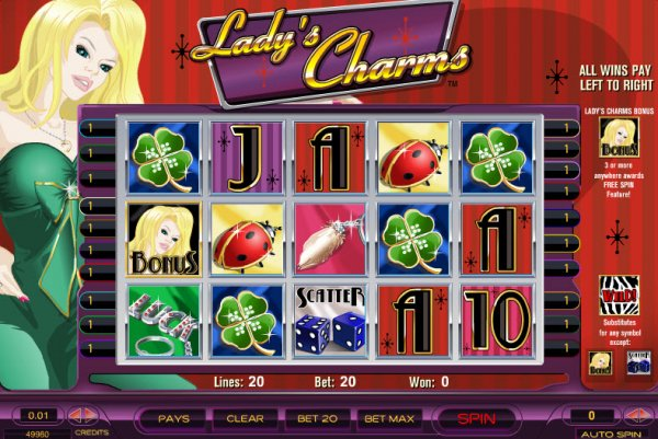 free casino games online lacky lady