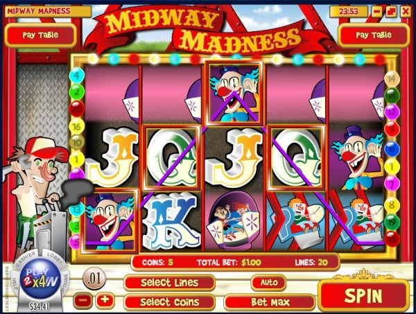 Spiele Bonzo The Clown - Video Slots Online