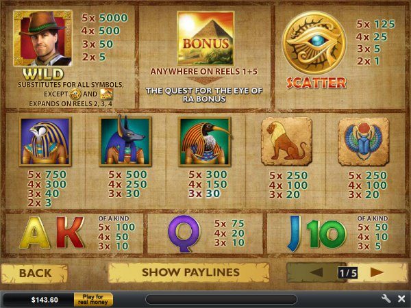online casino table games game of ra