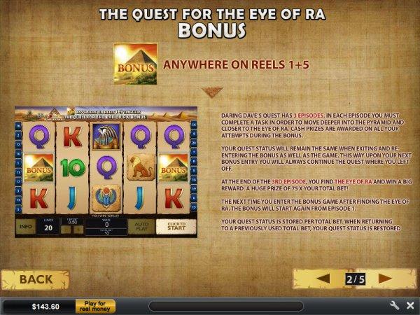 Play Daring Dave Slots Online at Casino.com Canada