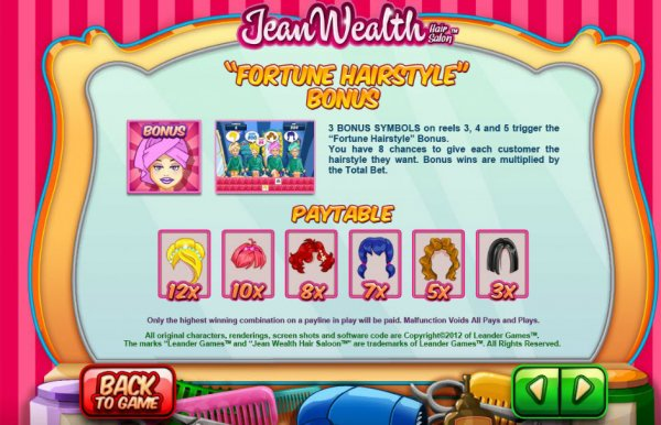 Jean Wealth™ Slot Machine Game to Play Free in Leander Gamess Online Casinos