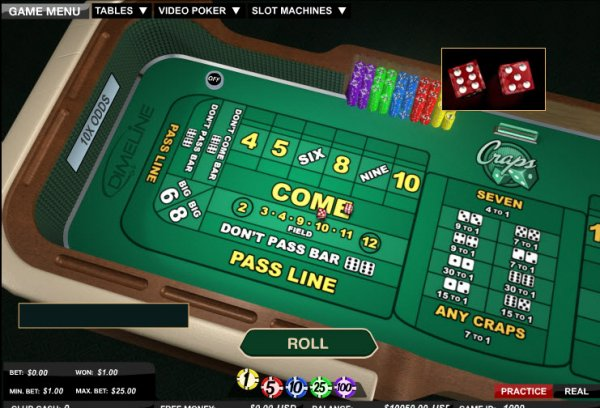 Explanation of craps bets