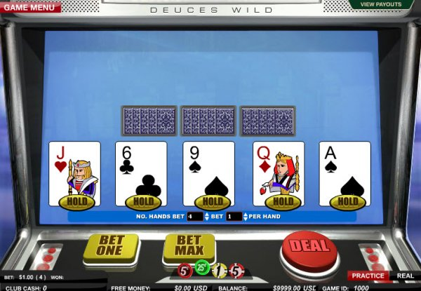 Juega Deuces Wild Video Poker Online en Casino.com Colombia