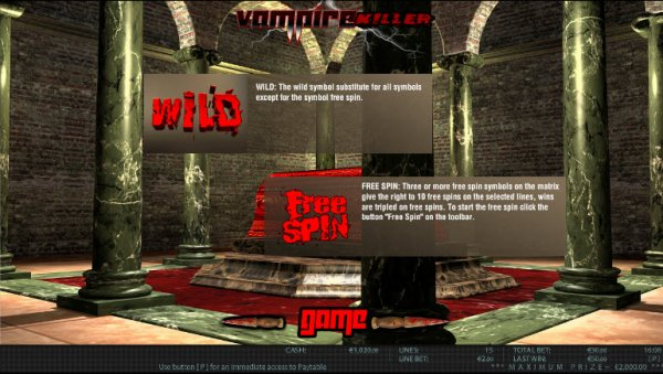 Vampire Killer™ Slot Machine Game to Play Free in WorldMatchs Online Casinos