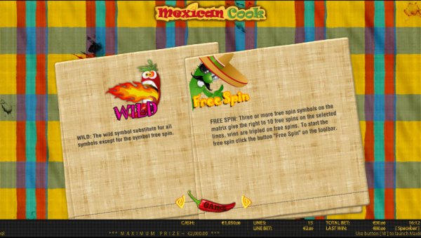 Mexican cook slot
