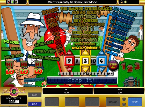 The Umpire Strikes Back™ Slot Machine Game to Play Free in Microgamings Online Casinos