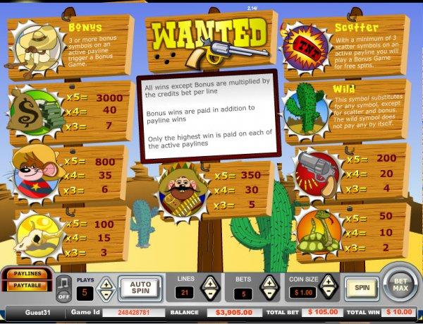 Wanted Slot Machine Online ᐈ Vista Gaming™ Casino Slots