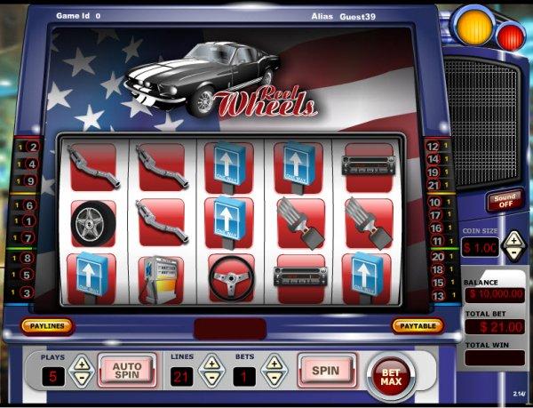 Reel Wheels Slots - Play Free Vista Gaming Slot Games Online
