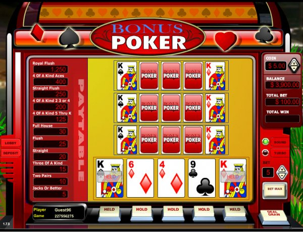 casino poker online game