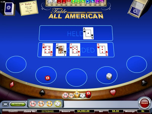 which online casino pays the best american poker 2 online