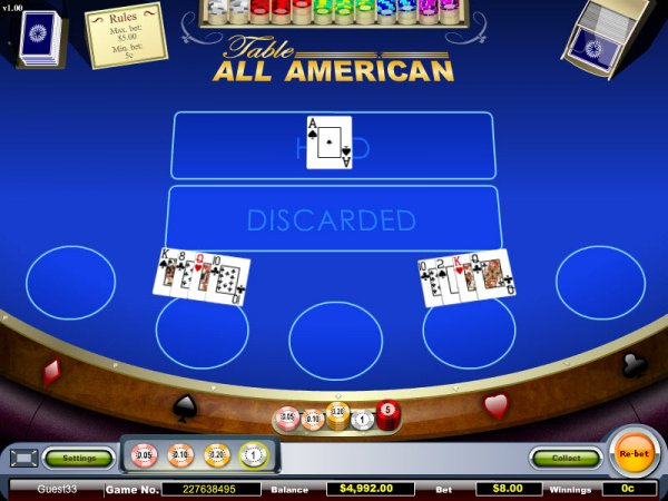 golden online casino american poker ii