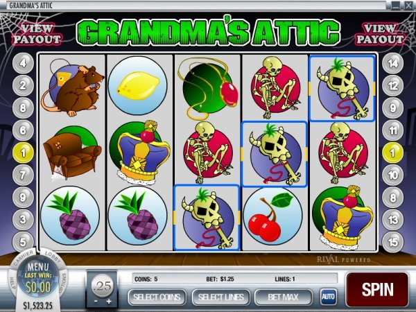 Grandmas Attic Slot Machine Online ᐈ Rival™ Casino Slots