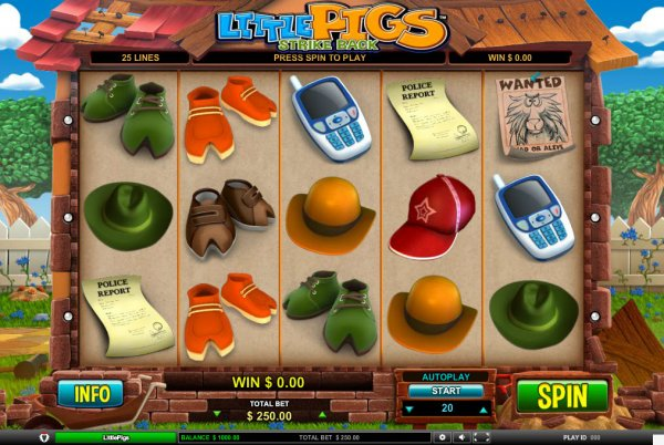 Little Pigs Strike Back Slot Machine Online ᐈ Leander Games™ Casino Slots