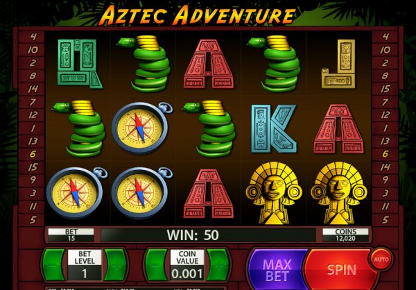 Aztec Slots Slot Machine - Play Penny Slot Machines Online