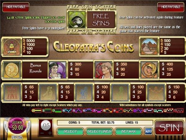 online casino guide cleopatra spiele