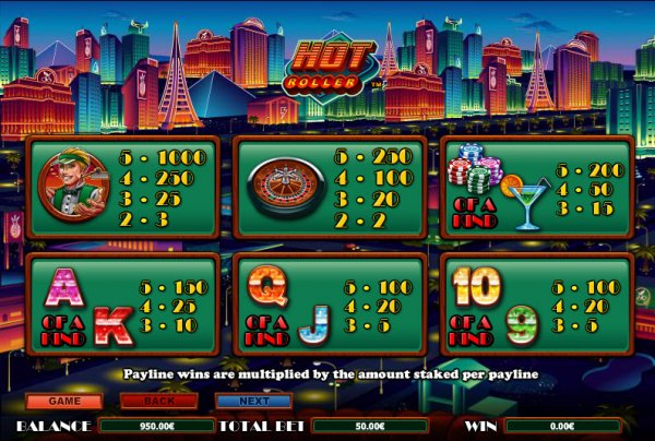 which online casino pays the best sizlling hot