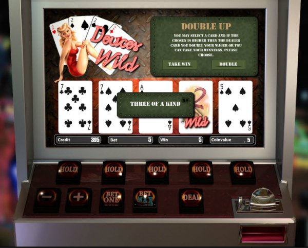 Play Deuces Wild Multi Hand Video Poker at Casino.com New Zealand
