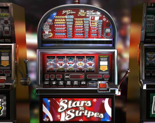 Stars N Stripes Slot Machine