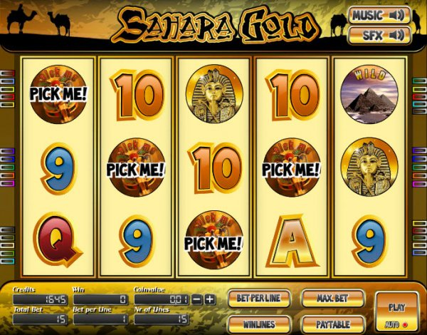 Slot machine sahara