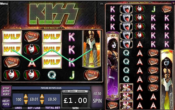 kiss shout it loud free play