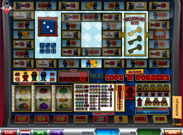 online casino click and buy cops and robbers slot