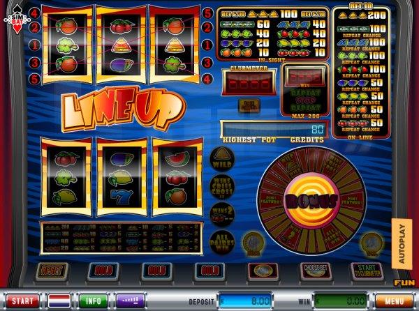 Bonus line slot machine online simbat Kırşehir