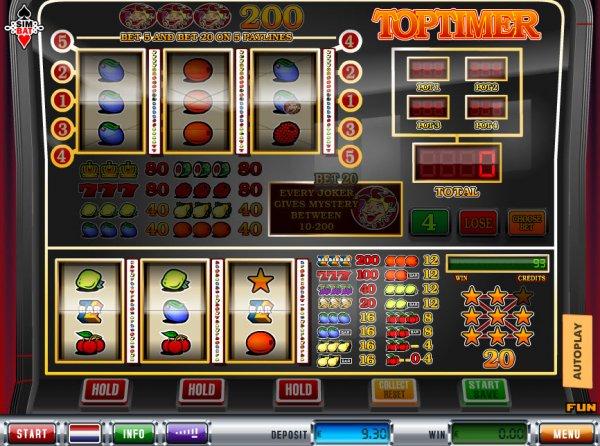 Mad Timer Slot Machine - Play this Simbat Casino Game Online