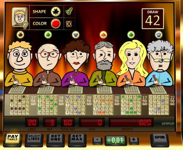 Bingo bonus slots