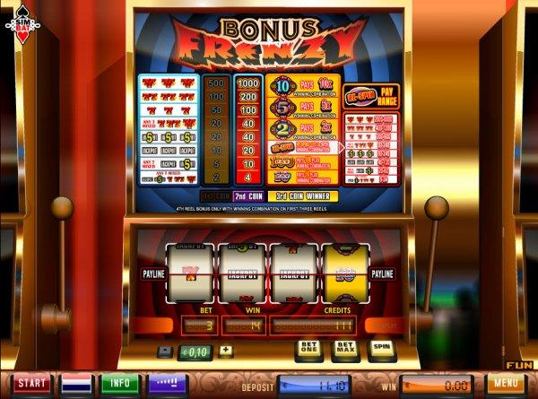 Bonus Frenzy Slot Machine Online ᐈ Simbat™ Casino Slots