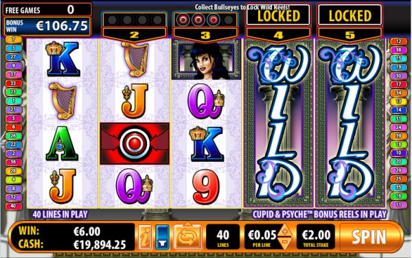 Cupid & Psyche Slot Free Games