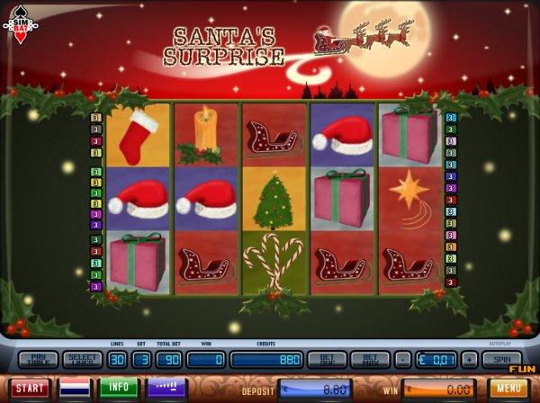 Slot santa surprise