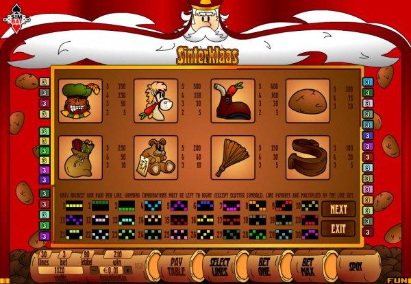 Sinterklaas Slot Machine - Free Online Simbat Slots Game
