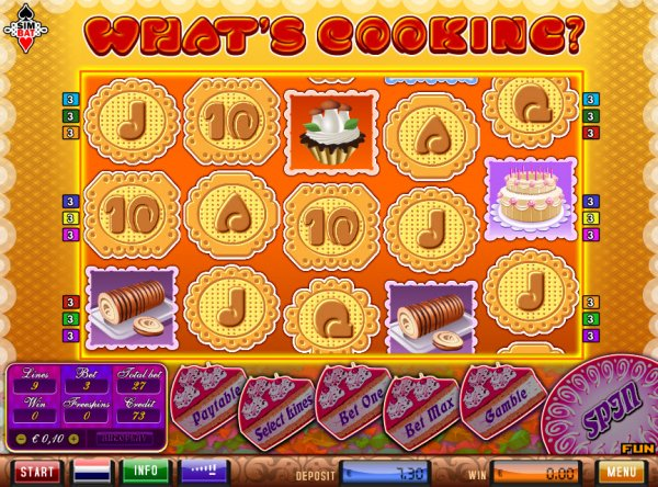 Play Whats Cooking Slots Online at Casino.com NZ