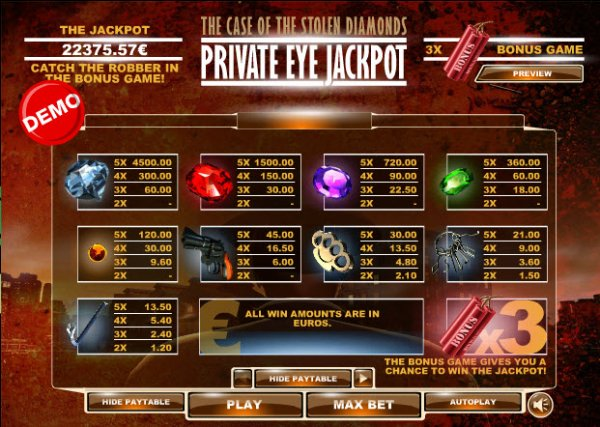 Private Eye Jackpot Slots - Play Online or on Mobile Now