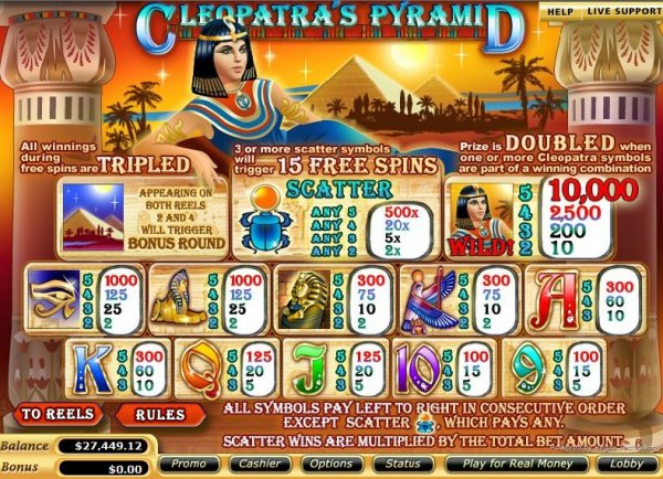 cleopatra online slot find casino games
