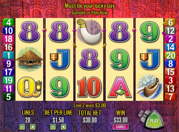 Tiki Shuffle Slots - Play the Online Version for Free