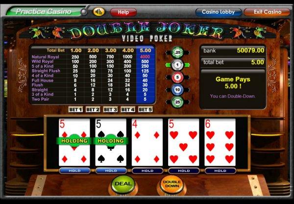Juega Video Poker Joker Poker Online en Casino.com México