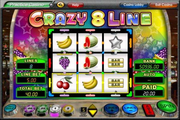 8 line slots
