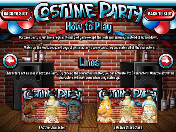 Costume Party Slots - Now Available for Free Online