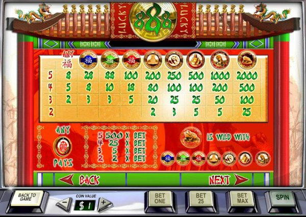 lucky 888 casino