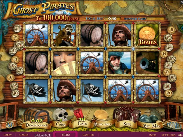 Pirate 2 Slots - Free Online Igrosoft Slot Machine Game