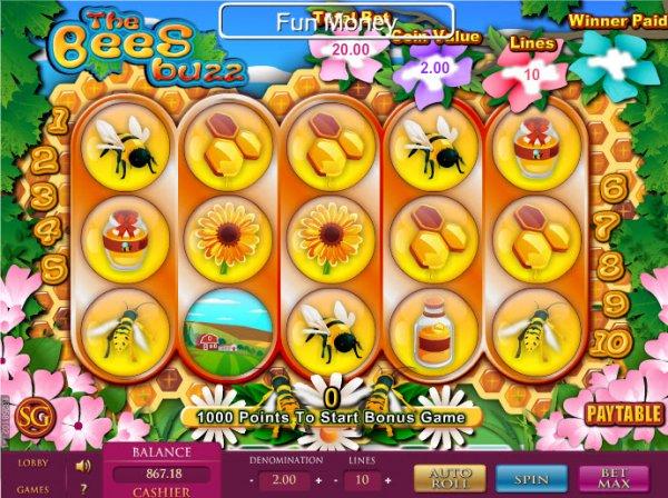 The Buzz Slot Machine