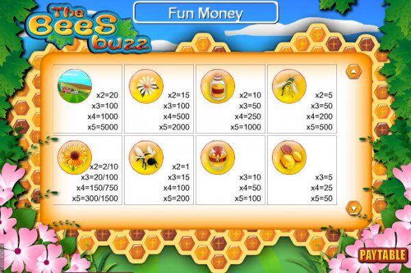 The Bees Buzz™ Slot Machine Game to Play Free in Skill On Nets Online Casinos