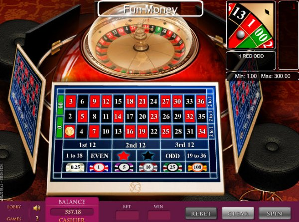 How to play electronic roulette in casino