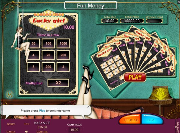 Lucky Row - Play online scratch card games! OnlineCasino Deutschland