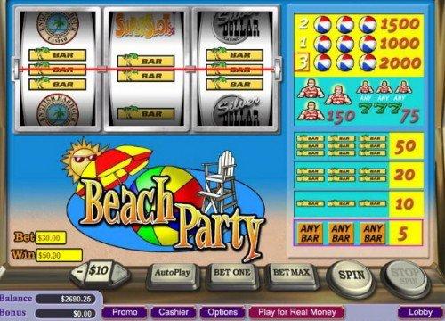 online casino game beach party spiele