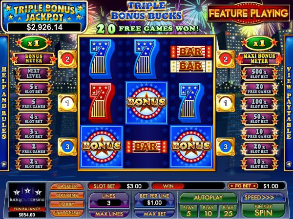 free casino games online slots with bonus buck of ra