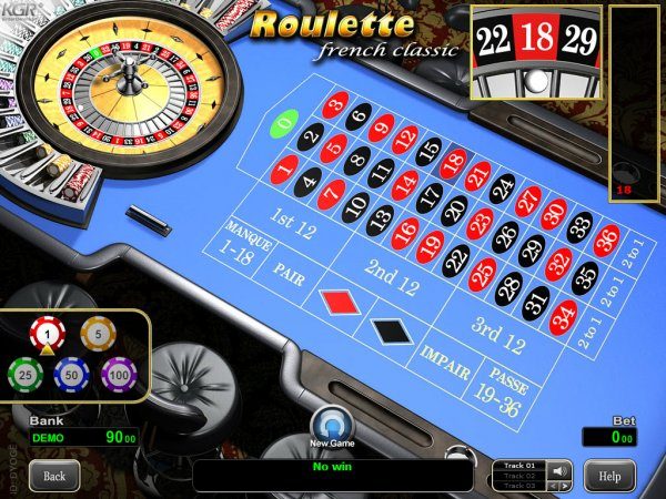 classic roulette software
